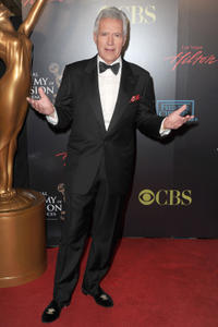 Alex Trebek at the 37th Annual Daytime Entertainment Emmy Awards in Las Vegas.