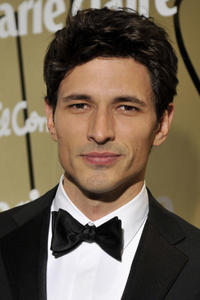 Andres Velencoso at the Marie Claire Prix de la Moda Awards 2010 in Spain.