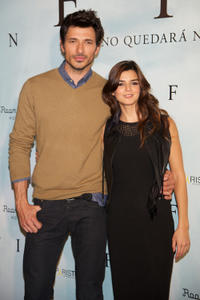 Andres Velencoso and Clara Lago at the photocall of