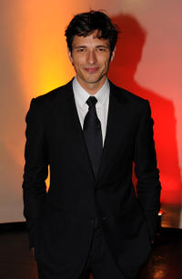 Andres Velencoso at the after party of the 2008 GQ Men of the Year Award in Germany.