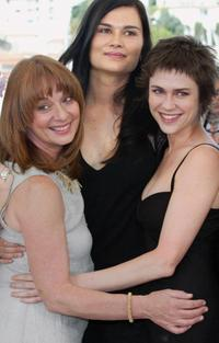 Johanne-Marie Tremblay, Marina Hands and Marie-Josee Croze at the 56th Cannes Film Festival.