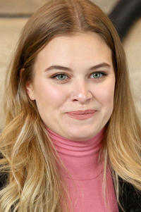 Tiera Skovbye during the 2018 Sundance Film Festival.