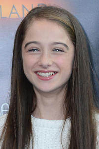 Raffey Cassidy at New York Comic-Con for