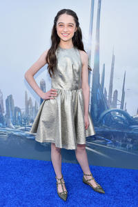 Raffey Cassidy at the California world premiere of