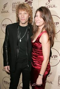 Jon Bon Jovi and his wife Dorothea Hurley at the