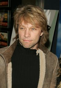 Jon Bon Jovi at the New York screening of