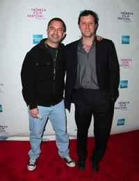 Glen Trotiner and Mike Canzoniero at the premiere of