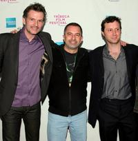 Thomas Sullivan, Glen Trotiner and Mike Canzoniero at the premiere of