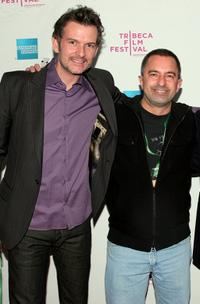 Thomas Sullivan and Glen Trotiner at the premiere of