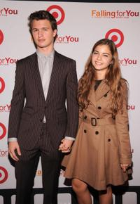 Ansel Elgort and guest at the New York event of
