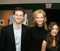 Jim True, Joan Allen and Valentina de Angelis at the premiere of