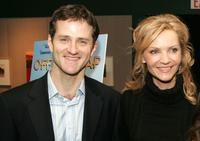 Jim True and Joan Allen at the premiere of