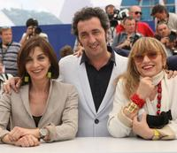 Anna Bonaiuto, Paolo Sorrentino and Anna Bonaiuto at the photocall of