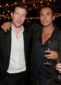 Ed Burns and Raoul Trujillo at the after party of the Los Angeles premiere of