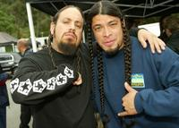 Fieldy Of Korn and Robert Trujillo at the MTVICON: Metallica tribute special.