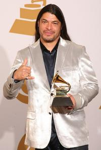 Robert Trujillo at the 51st Annual Grammy awards.