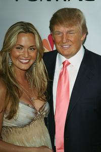 Vanessa Trump and Donald Trump at the after party for Season Five Finale of