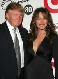 Donald Trump and Melania Trump at the Tony Bennett's 80th birthday celebration.