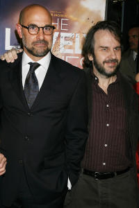 Stanley Tucci and Peter Jackson at the Special New York screening of