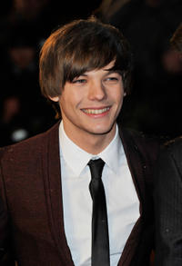 Louis Tomlinson at the world premiere of