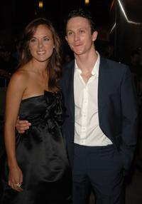 Libby and Jonathan Tucker at the premiere of