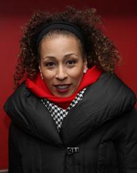 Tamara Tunie at the private screening of