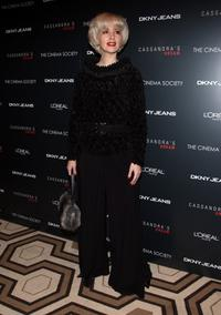 Janine Turner at the New York screening of