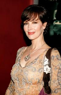 Janine Turner at the Dreamworks Premiere of