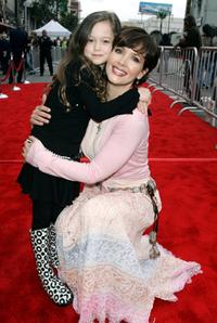 Janine Turner and daughter Juliette Gauntt at the Walt Disney premiere of
