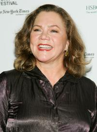 Kathleen Turner at The New York Film Festival screening of