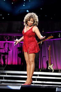 Tina Turner at the First night of European Tour.