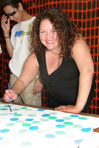 Aida Turturro at the Publicolor's Stir, Spatter And Roll Benefit Honoring Police Commissioner Raymond W. Kelly.