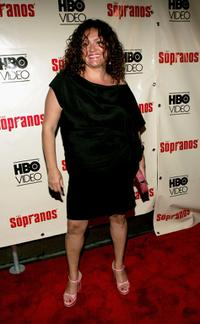 Aida Turturro at the The Sopranos: The Complete Fifth Season DVD launch party.