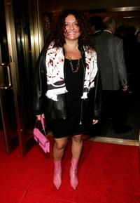Aida Turturro at the opening night of
