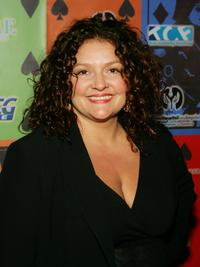 Aida Turturro at the Comedy Festival's Comedy Cares first annual Celebrity Poker Tournament.