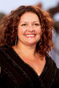 Aida Turturro at the 62nd Venice Film Festival, attends premiere for