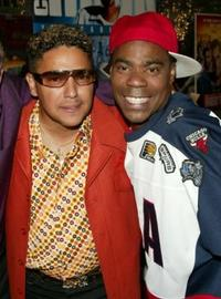 Nick Turturro and Tracy Morgan at the special screening of