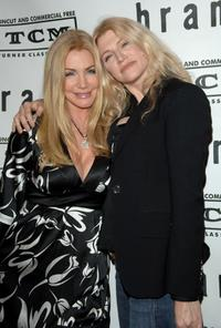 Shannon Tweed and sister Tracy Tweed at the premiere and party for TCM's
