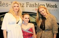 Shannon Tweed, Emily Tweed and Molly Tweed at the Mercedes-Benz Fashion Week.