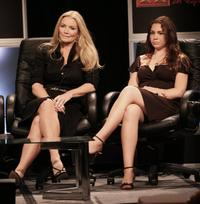 Shannon Tweed and her daugher Sophie Tweed Simmons at the 2006 Summer Television Critics Association Press Tour.