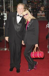 Twiggy and husband Leigh Lawson at the UK premiere of