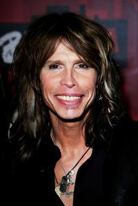 Steven Tyler at the BRIT Awards 2007.