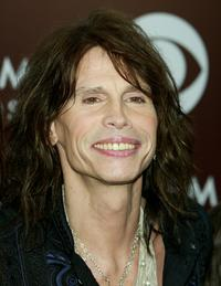 Steven Tyler at the 47th Annual Grammy Awards.