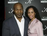 Mike Tyson and Whitney Luz at the grand opening of Katherine's Southern Dinner House.