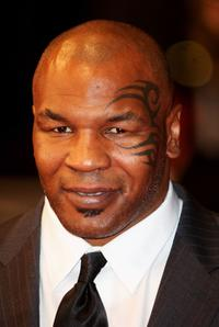 Mike Tyson at the premiere of