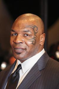 Mike Tyson at the screening of