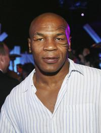 Mike Tyson at the afterparty of the premiere of
