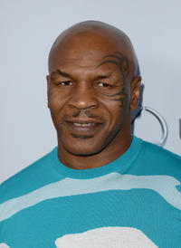 Mike Tyson at the California premiere of