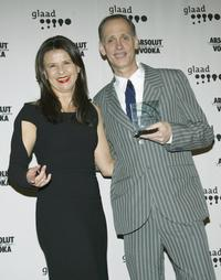 Tracey Ullman and John Waters at the 15th Annual GLAAD Media Awards.