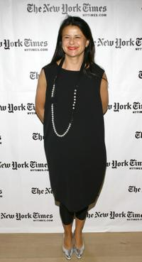 Tracey Ullman at the third Annual New York Times Sunday with the Magazine.